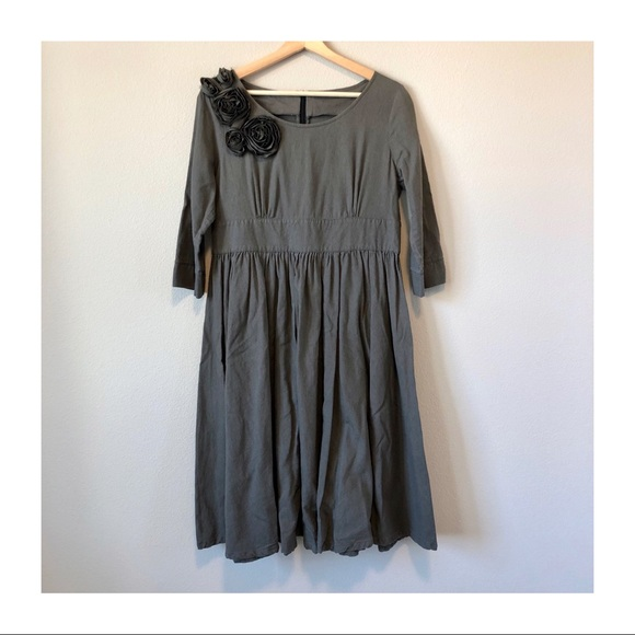 Etsy Dresses & Skirts - LIKE NEW | Handmade Linen Knee Length Dress